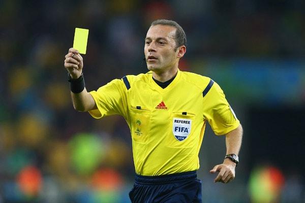 Картинки по запросу желтая карточка тренеру