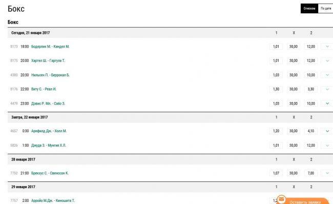 Как делать ставку в букмекерской конторе на бокс [PUNIQRANDLINE-(au-dating-names.txt) 55
