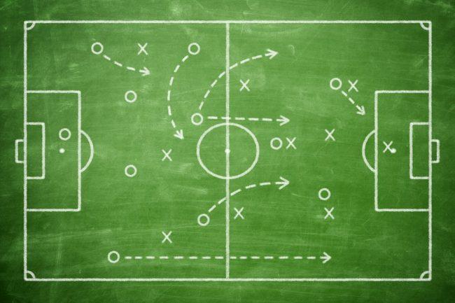 Футбол схема